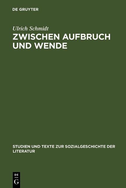 Zwischen Aufbruch und Wende als eBook Download ...