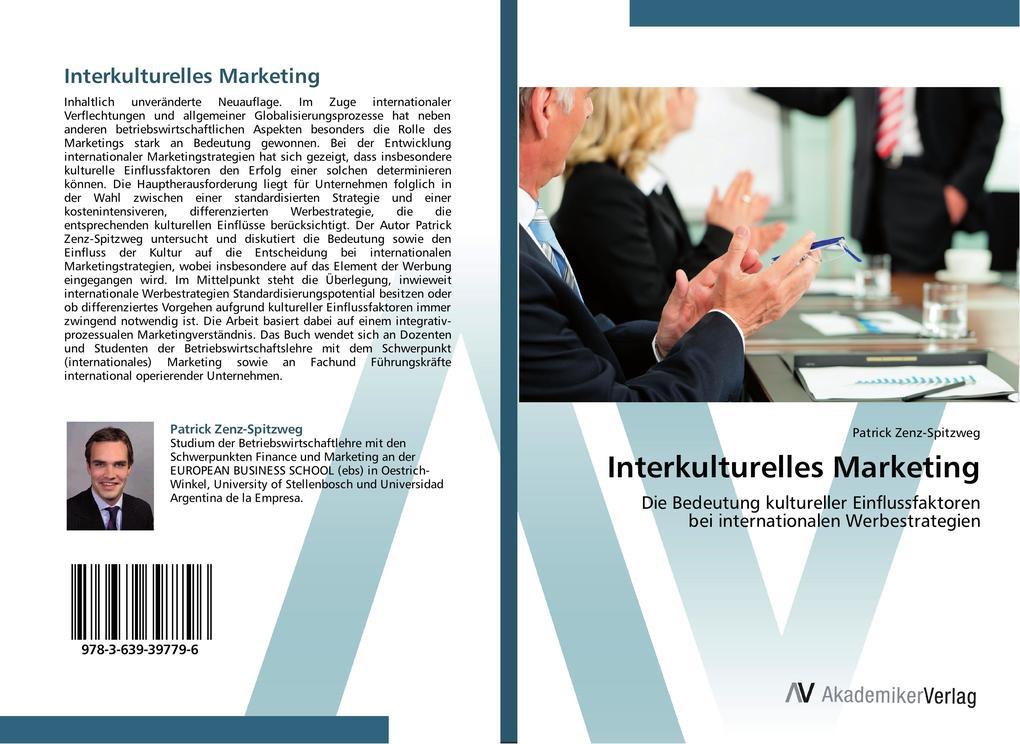 Interkulturelles Marketing als Buch von Patrick...