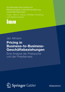 Pricing in Business to Business Geschäftsbeziehungen