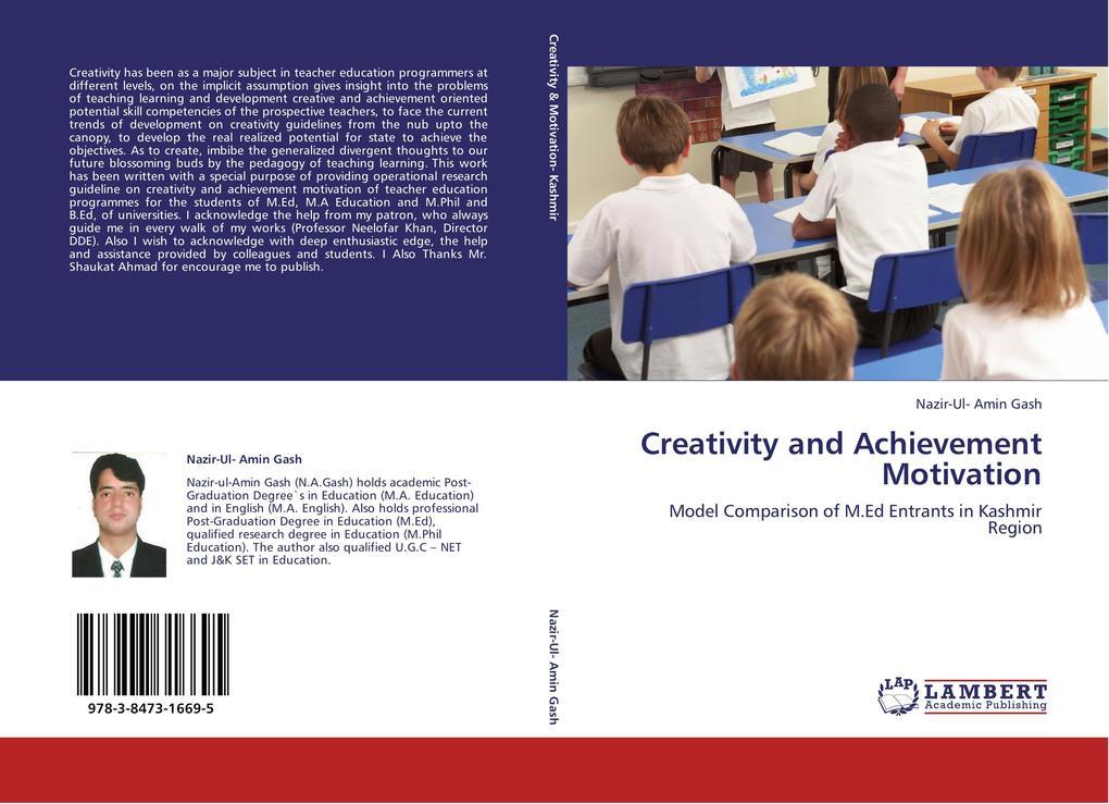Creativity and Achievement Motivation als Buch ...