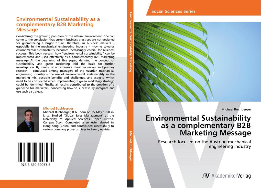 Environmental Sustainability as a complementary...