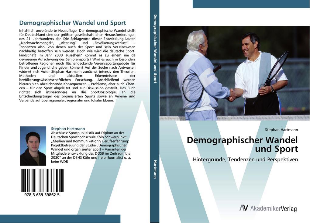 Demographischer Wandel und Sport als Buch von S...