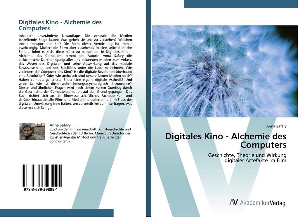 Digitales Kino - Alchemie des Computers als Buc...