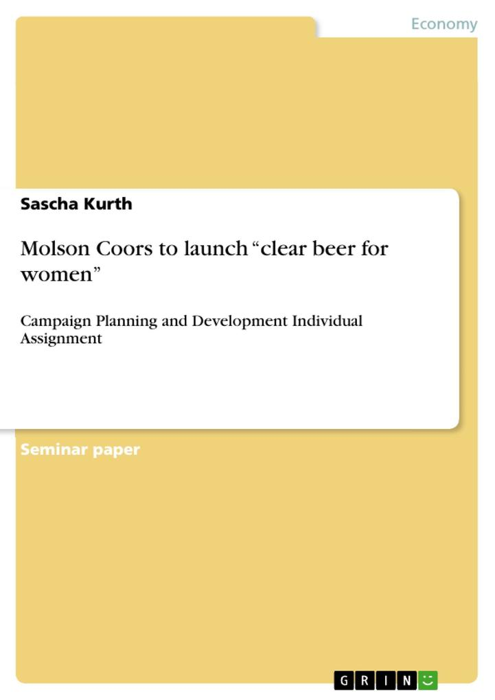 Molson Coors to launch ´clear beer for women´ a...