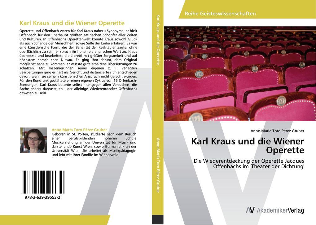 Karl Kraus und die Wiener Operette als Buch von...