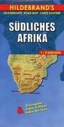 Südliches Afrika 1 : 2 500 000. Hildebrand's Urlaubskarte