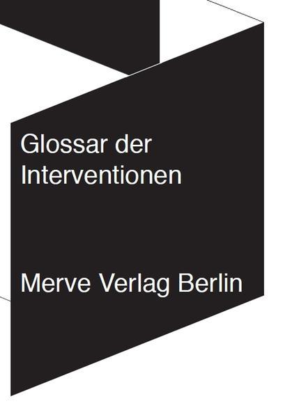 Glossar der Interventionen als Buch