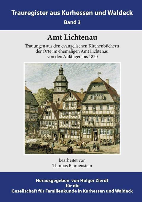 Amt Lichtenau als Buch von Thomas Blumenstein