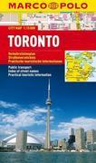 MARCO POLO Cityplan Toronto 1 : 15.000