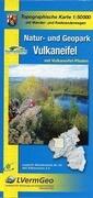 Freizeitkarte Rheinland-Pfalz Natur- und Geopark Vulkaneifel 1 : 50 000