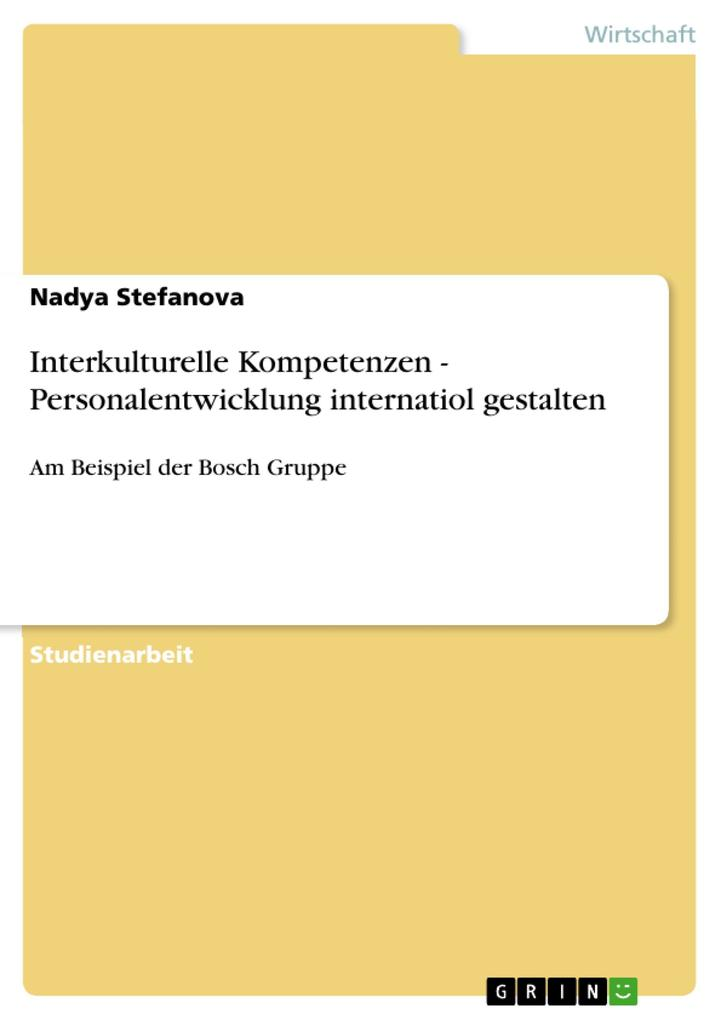 Interkulturelle Kompetenzen - Personalentwicklu...