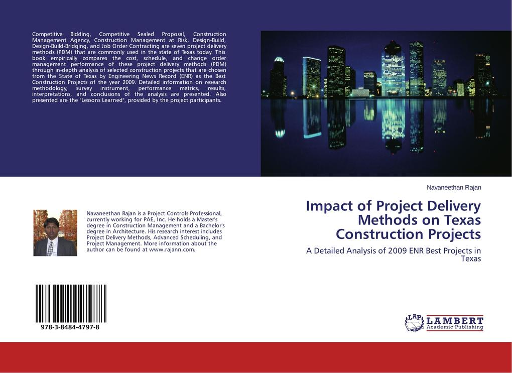Impact of Project Delivery Methods on Texas Con...