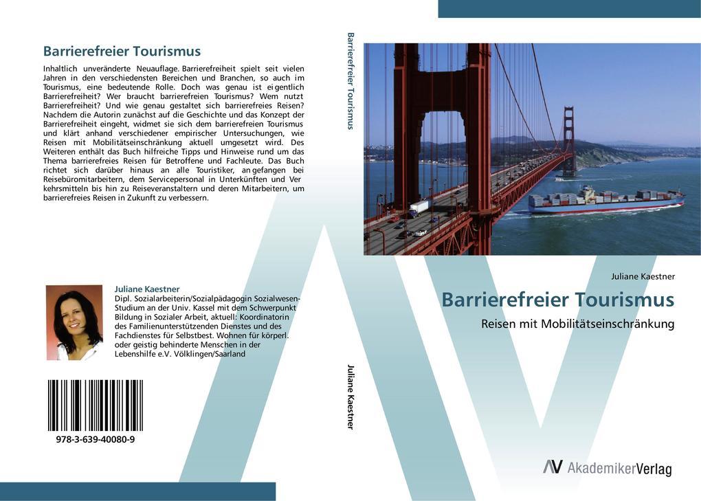 Barrierefreier Tourismus als Buch von Juliane K...