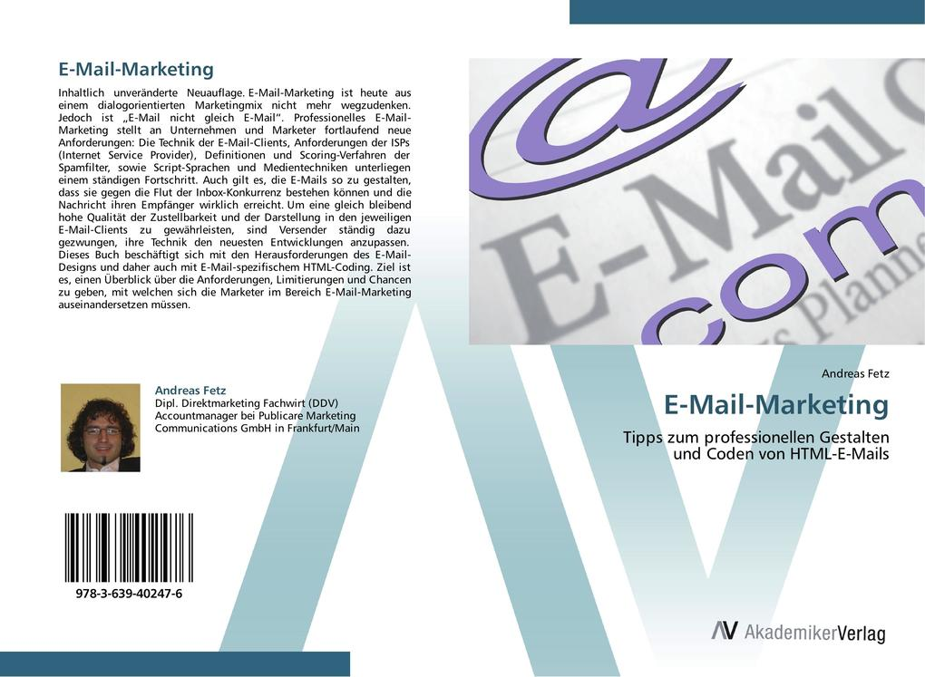 E-Mail-Marketing als Buch von Andreas Fetz