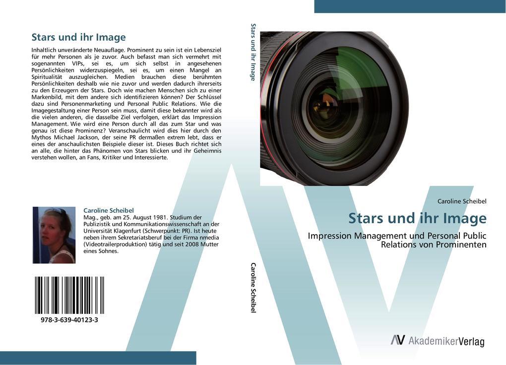 Stars und ihr Image als Buch von Caroline Scheibel