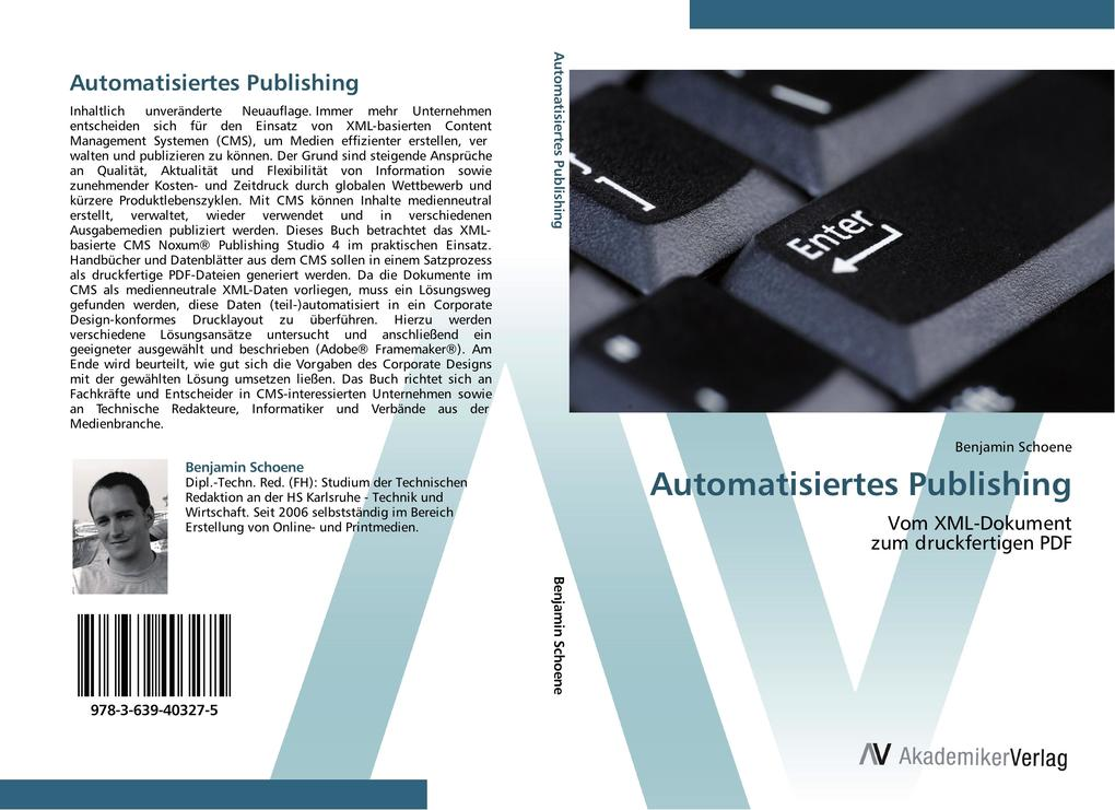 Automatisiertes Publishing als Buch von Benjami...