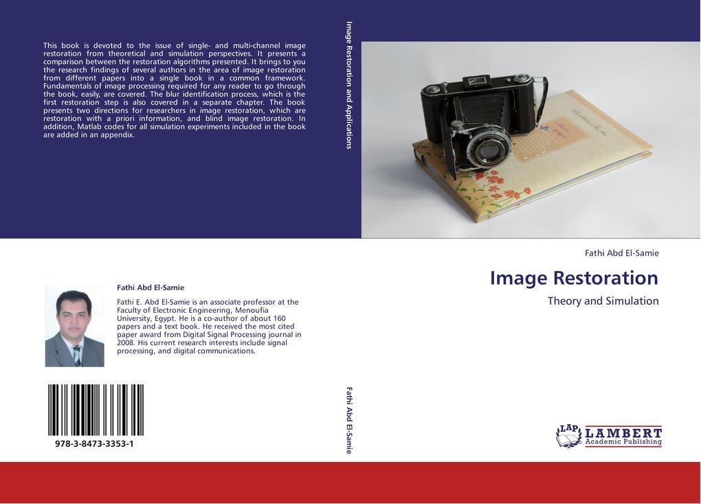 Image Restoration als Buch von Fathi Abd El-Samie