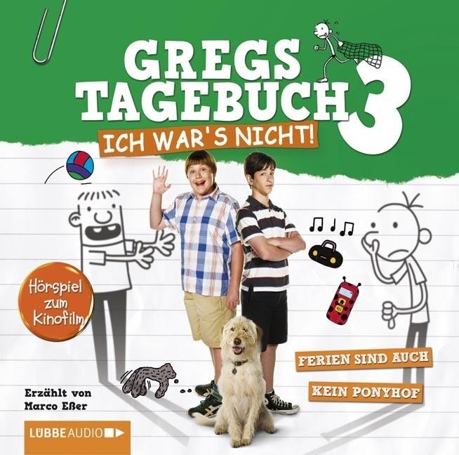 Gregs Film-Tagebuch 3 - Ich war's nicht! als Hörbuch