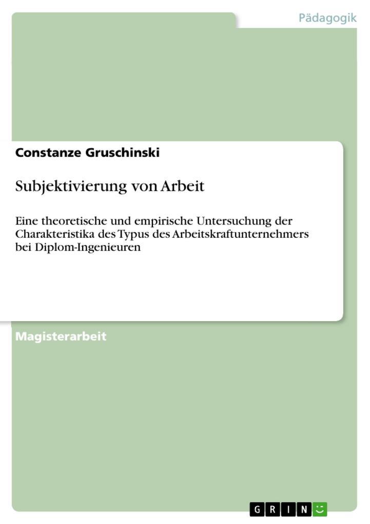 Subjektivierung von Arbeit als eBook Download v...