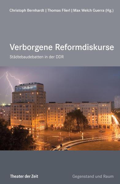 Städtebau-Debatten in der DDR als Buch von Matt...