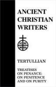 Tertullian, Treatise on Penance: On Penitence & on Purity als Buch (gebunden)