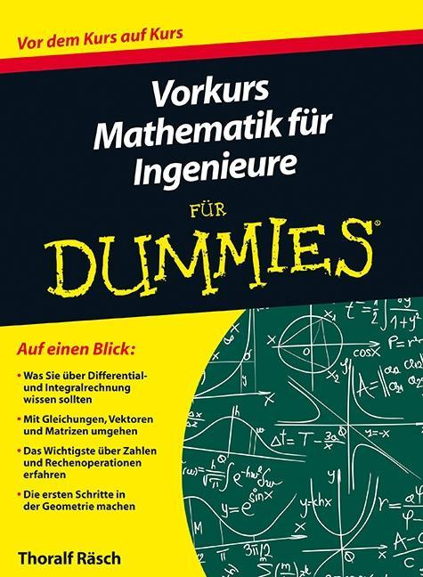 Vorkurs Mathematik für Ingenieure für Dummies a...