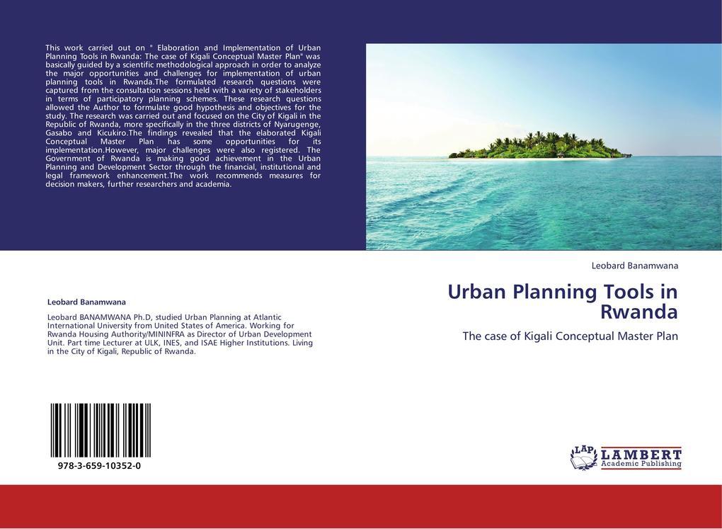 Urban Planning Tools in Rwanda als Buch von Leo...