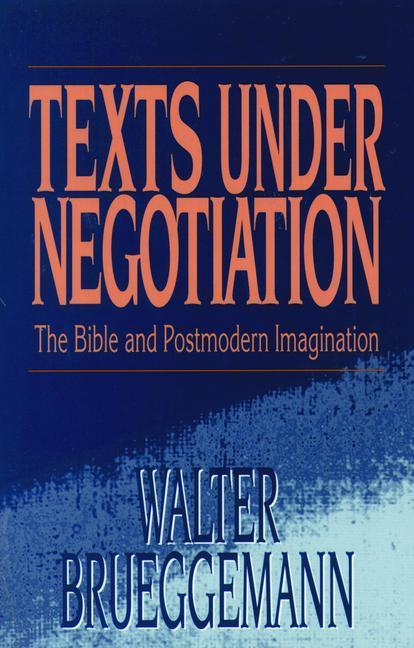 Texts Under Negotiation als Taschenbuch