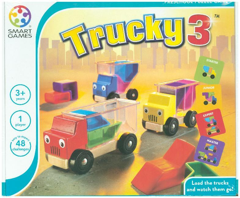 Jumbo Spiele - SmartGames - Trucky 3