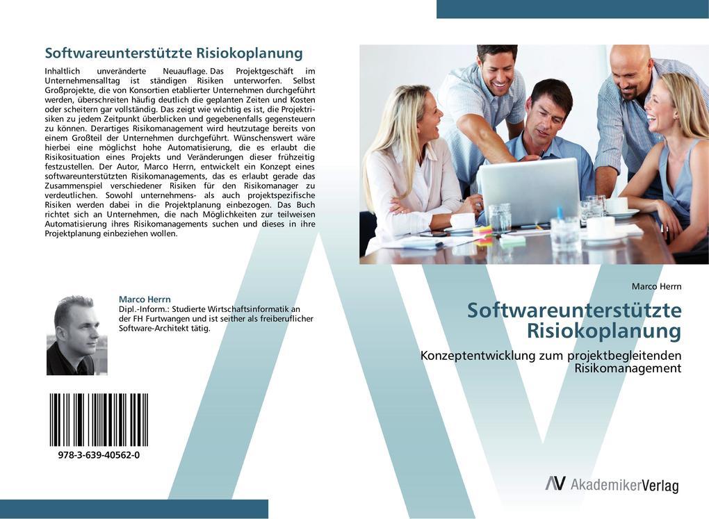 Softwareunterstützte Risiokoplanung als Buch vo...