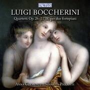 Boccherini:Quartetti op.26 (1778) p.due fortepiani
