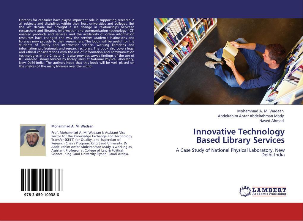 Innovative Technology Based Library Services al...