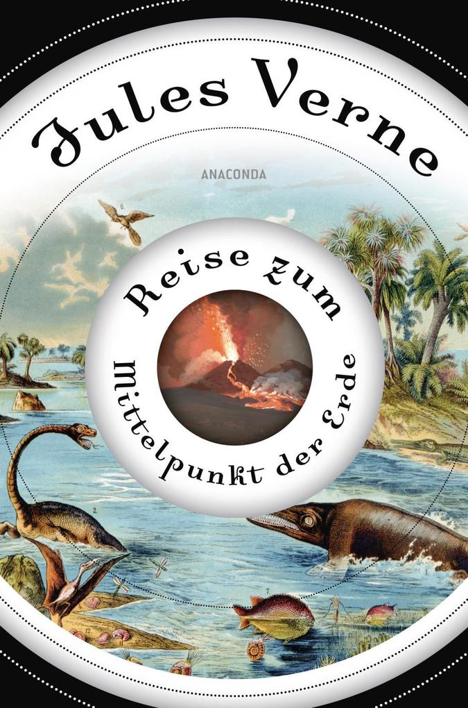 Buchcover von Jules Verne: Reise zum Mittelpunkt der Erde