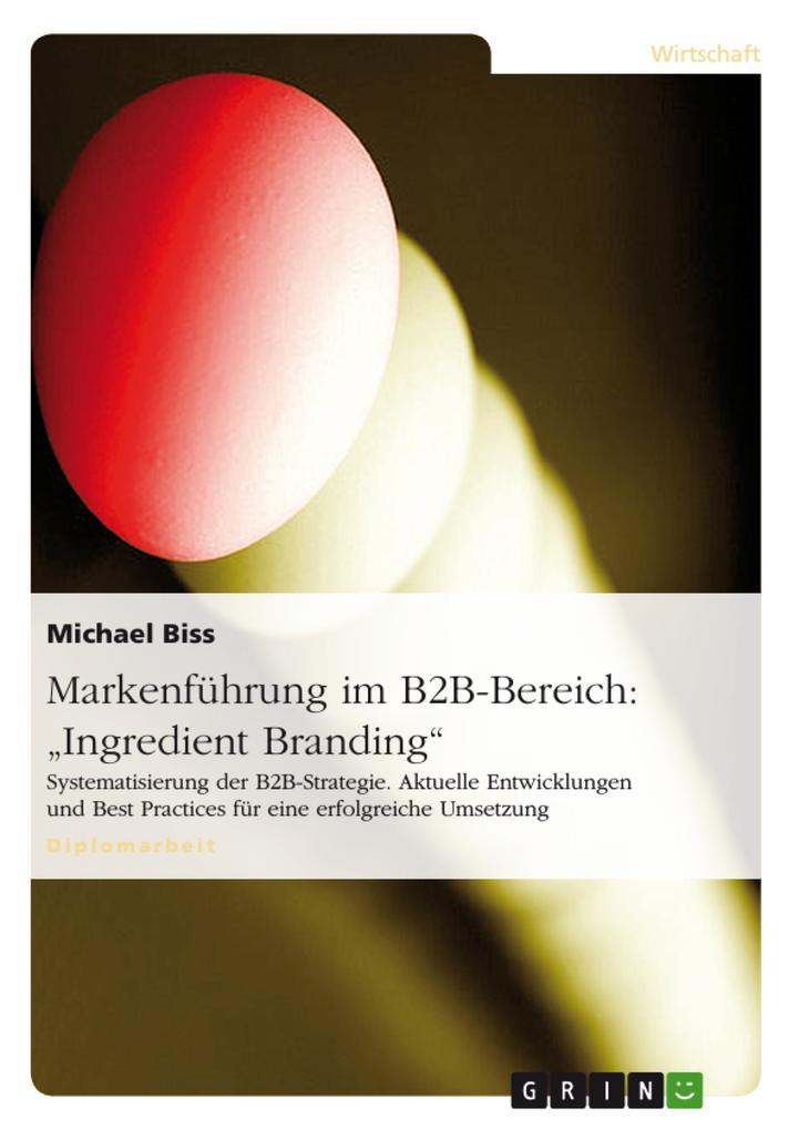 Markenführung im B2B-Bereich: Ingredient Brandi...