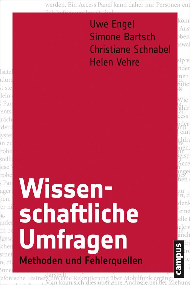 Wissenschaftliche Umfragen als Buch von Uwe Eng...