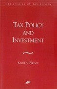 Tax Policy and Investment