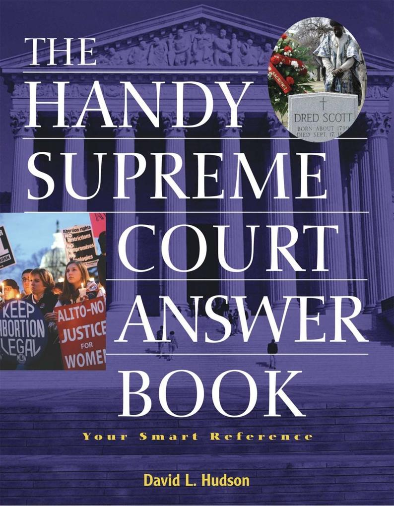 The Handy Supreme Court Answer Book als eBook D...
