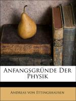 Anfangsgründe Der Physik als Taschenbuch von An...