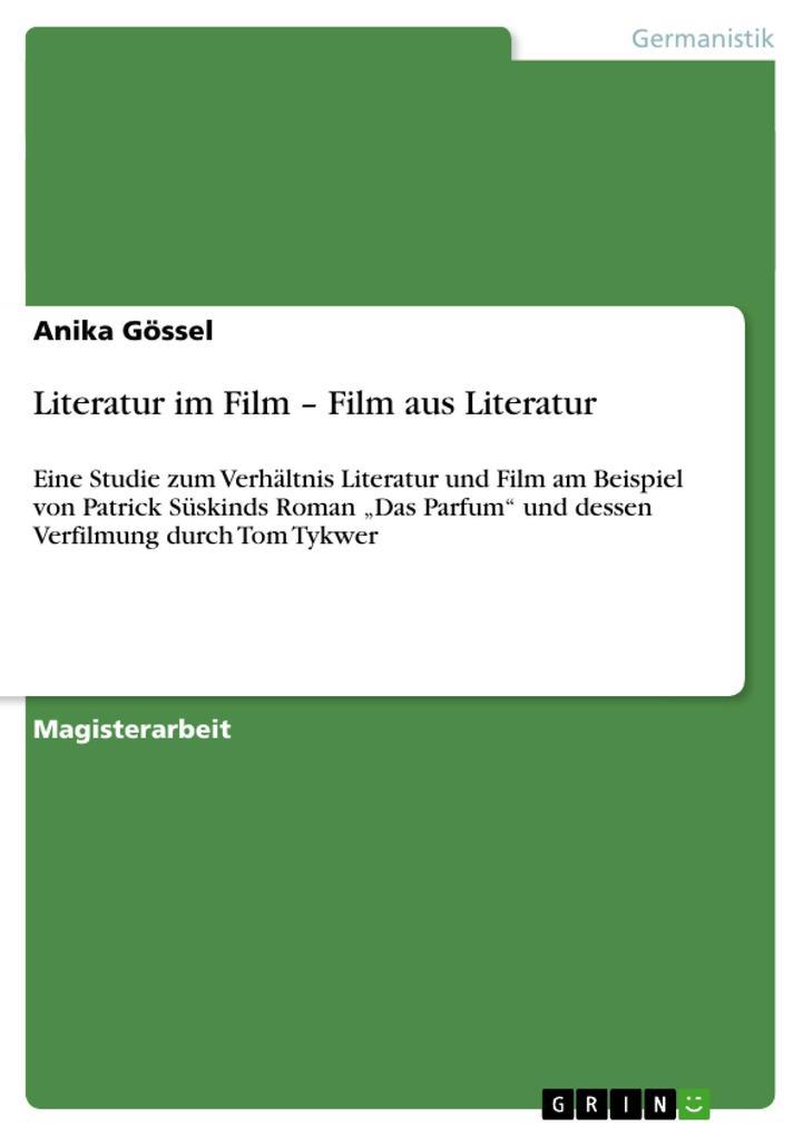 Literatur im Film - Film aus Literatur als Buch...