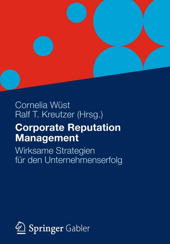 Corporate Reputation Management als Buch von