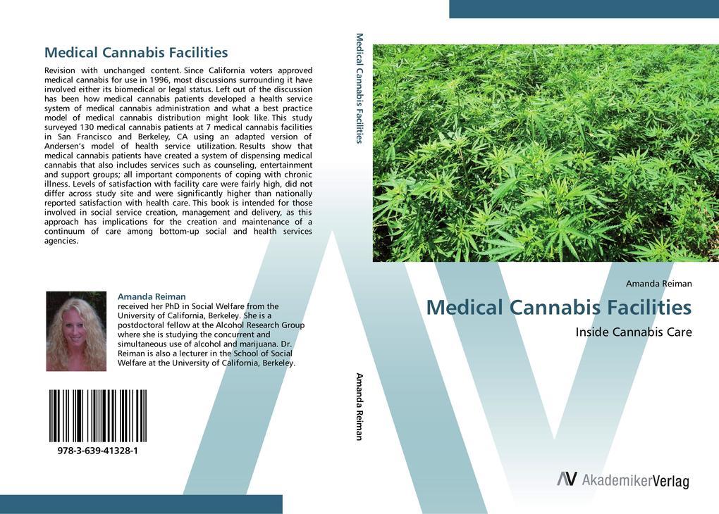 Medical Cannabis Facilities als Buch von Amanda...
