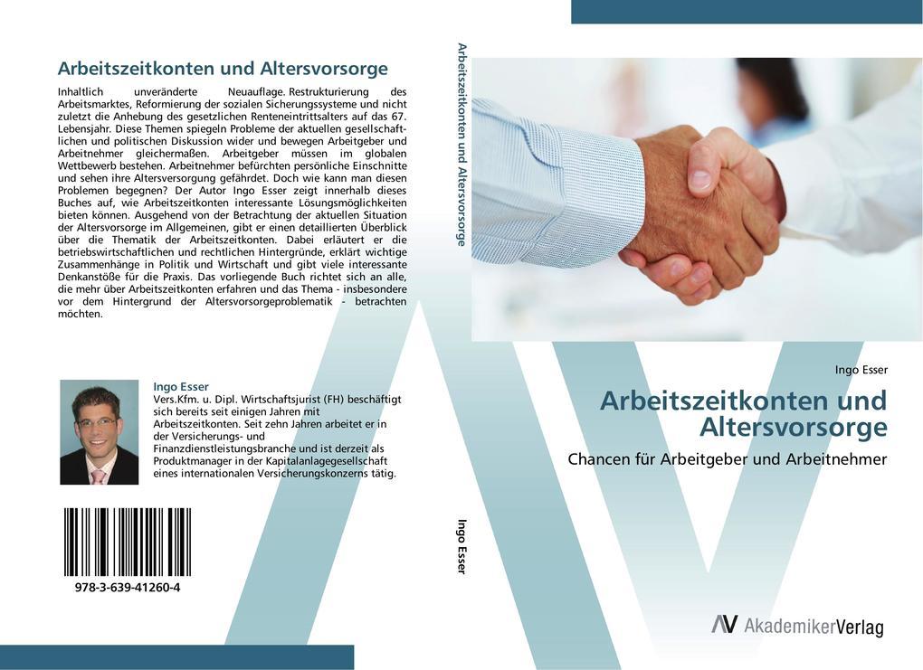Arbeitszeitkonten und Altersvorsorge als Buch v...