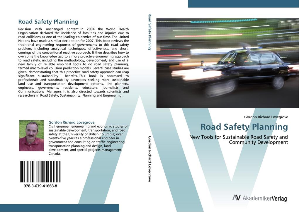 Road Safety Planning als Buch von Gordon Richar...