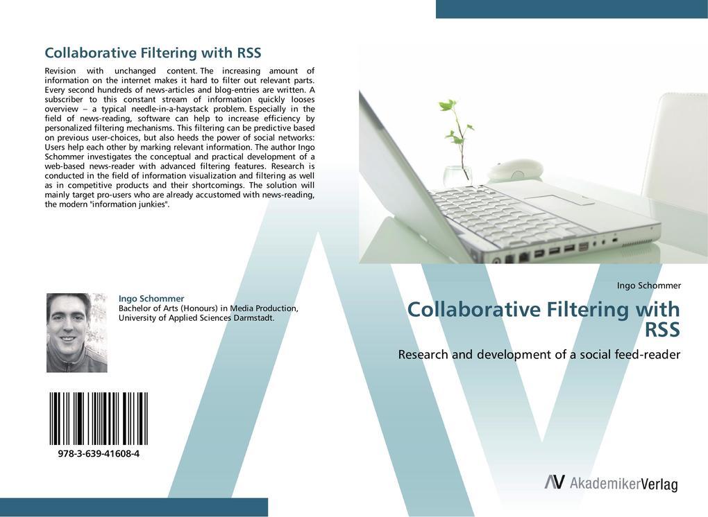 Collaborative Filtering with RSS als Buch von I...