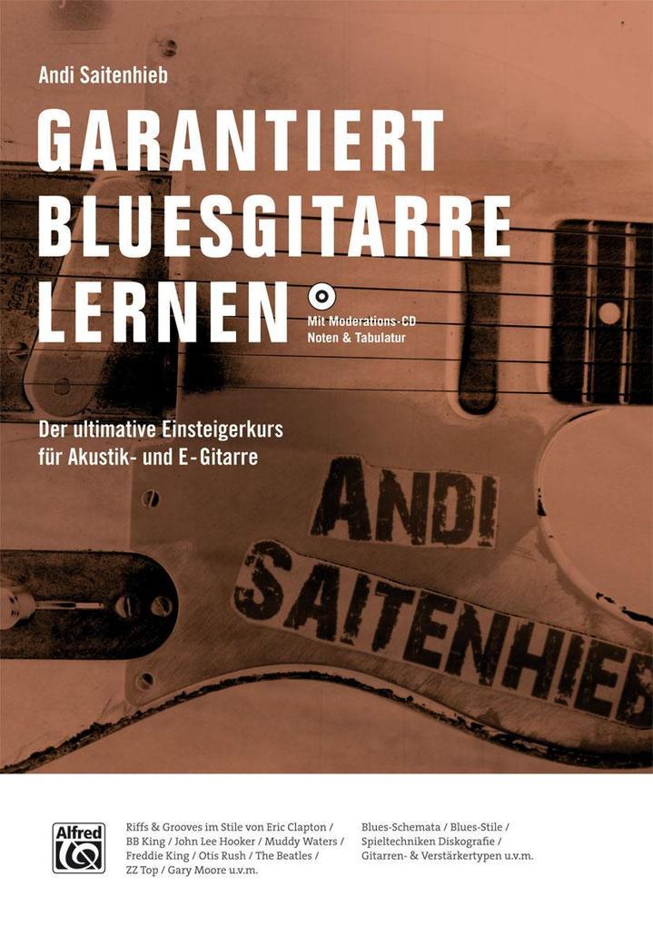 Garantiert Bluesgitarre lernen als Buch von And...