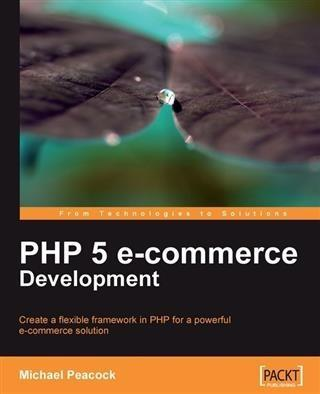 PHP 5 e-commerce Development als eBook Download...