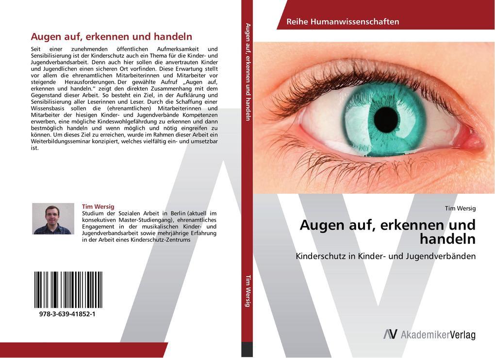 Augen auf, erkennen und handeln als Buch von Ti...