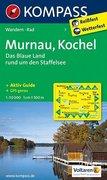 Murnau - Kochel - Das blaue Land rund um den Staffelsee 1 : 50 000