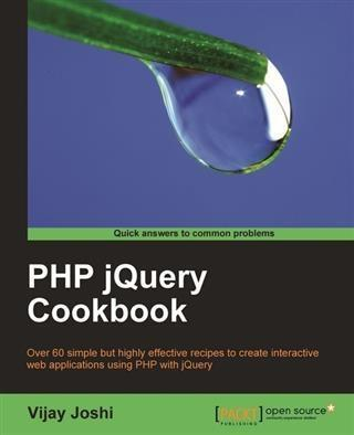 PHP jQuery Cookbook als eBook Download von Vija...