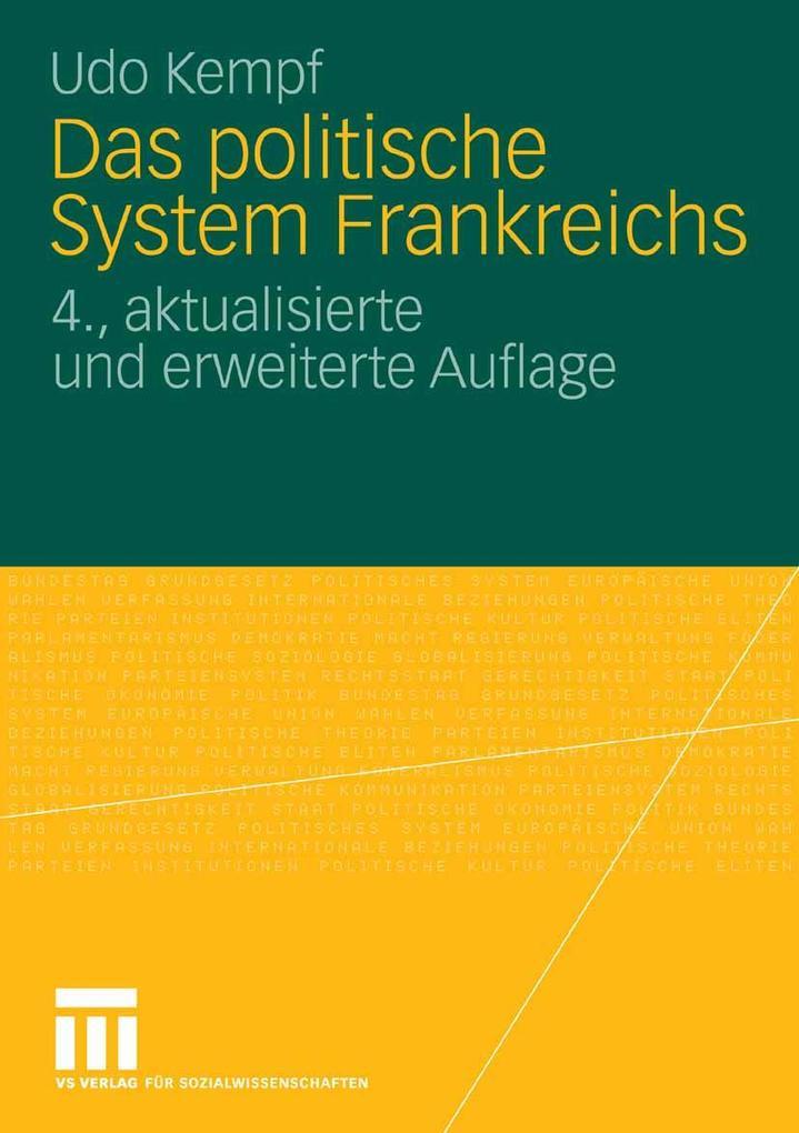 Das politische System Frankreichs als eBook Dow...